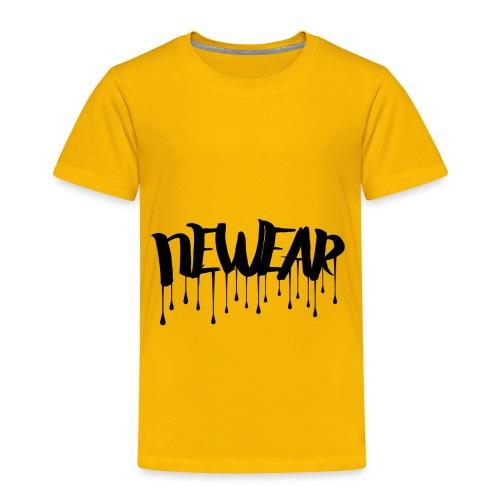 NEWEAR Logo BLACK - Toddler Premium T-Shirt