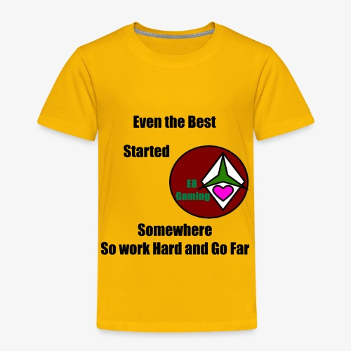 E8 Inspiration - Toddler Premium T-Shirt