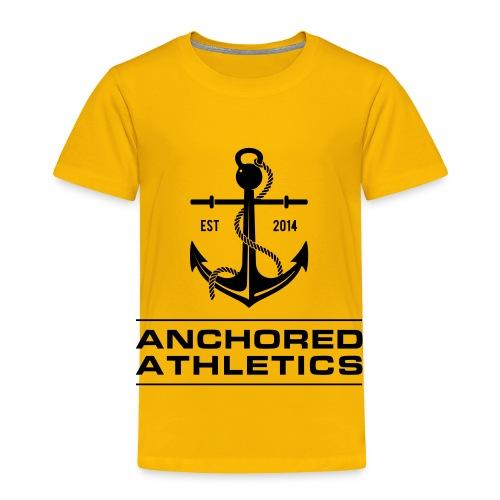 Anchored Athletics Classic Logo - Toddler Premium T-Shirt