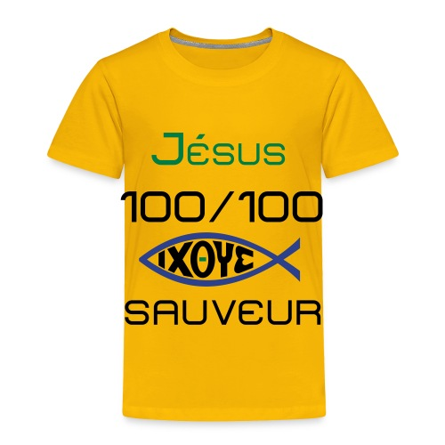 jesus100 - Toddler Premium T-Shirt