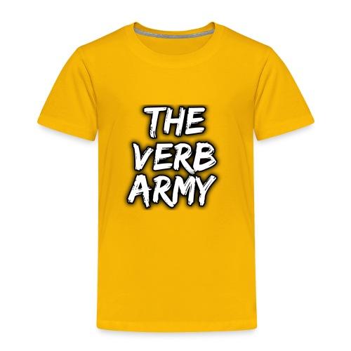 The Verb Army - Toddler Premium T-Shirt