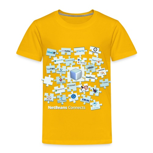NetBeans Connects - Toddler Premium T-Shirt