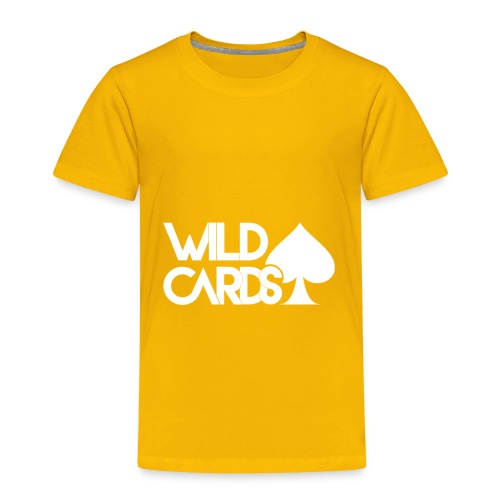 Black Wild Cards Hoodie - Toddler Premium T-Shirt