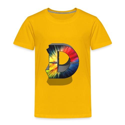 D Logo Colorful - Toddler Premium T-Shirt