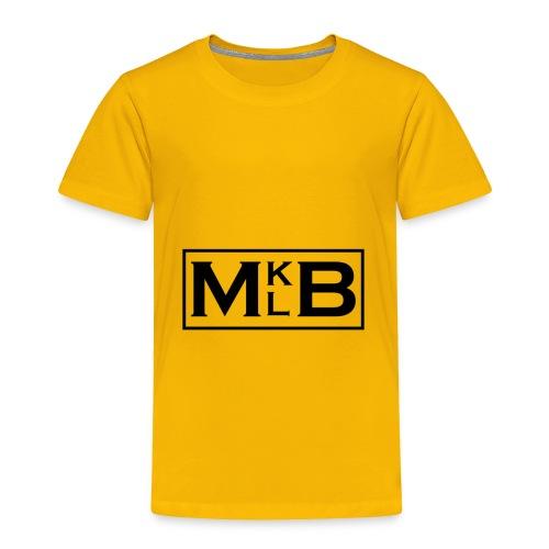 mklb logo -2 - Toddler Premium T-Shirt