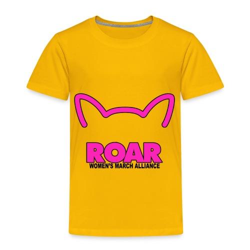 Roar Womens March Alliance - Toddler Premium T-Shirt