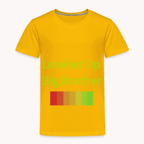 Leveled Up - Toddler Premium T-Shirt