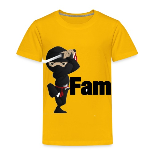 ninja shirtn - Toddler Premium T-Shirt