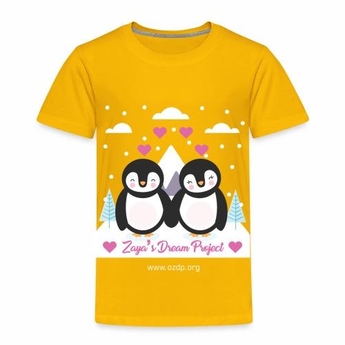 Couple penguin design - Toddler Premium T-Shirt