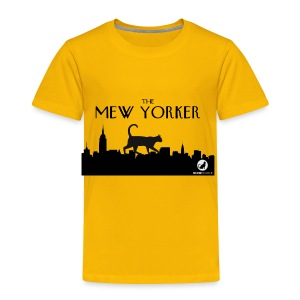 The Mew Yorker - Toddler Premium T-Shirt