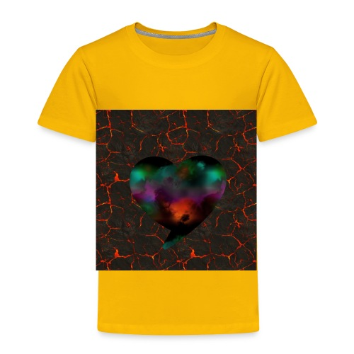Heart of fire - Toddler Premium T-Shirt