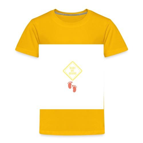 Baby on board - Toddler Premium T-Shirt