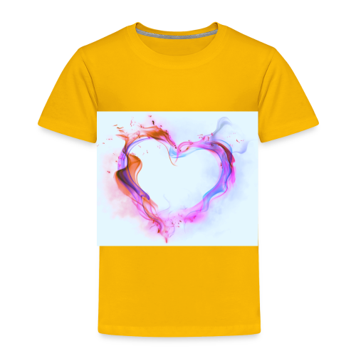 Heart of fire - Toddler Premium T-Shirt