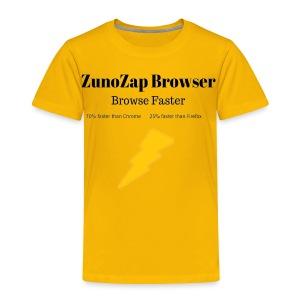 ZunoZap Merch (2nt design) - Toddler Premium T-Shirt
