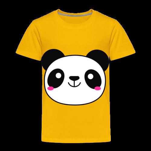 Panda Smiling Special Gift - Toddler Premium T-Shirt