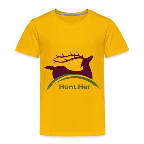 HuntHER Gear - Toddler Premium T-Shirt