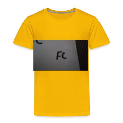 The fc hoodie - Toddler Premium T-Shirt