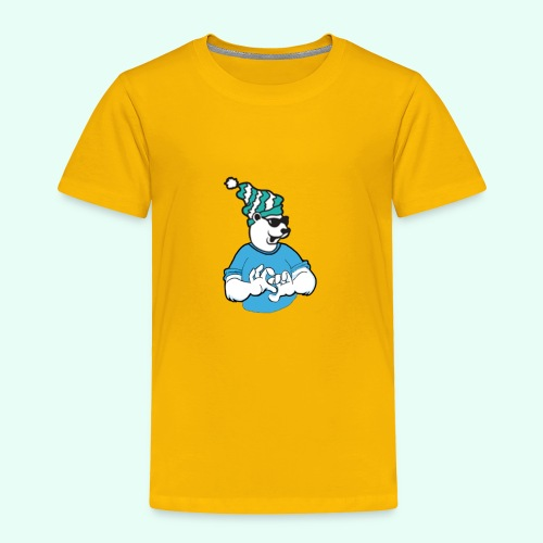 Sarcasm XD Poaly the Polar bear - Toddler Premium T-Shirt
