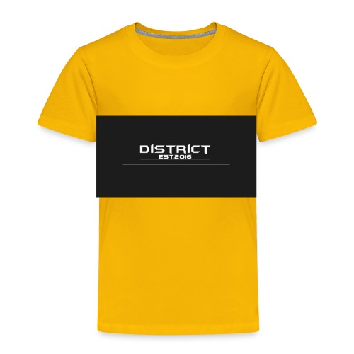 District apparel - Toddler Premium T-Shirt