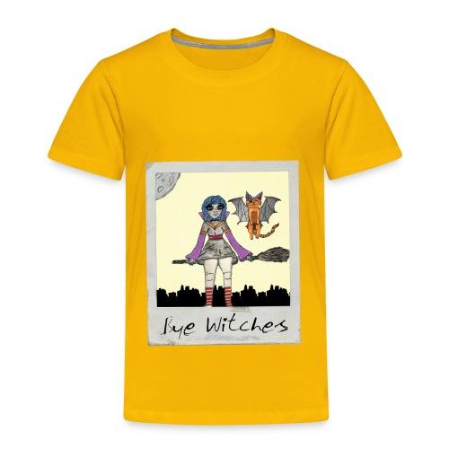 BYE WITCHES! Polariod - Toddler Premium T-Shirt