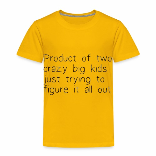 The product - Toddler Premium T-Shirt
