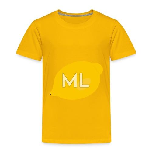 Mad Lemons Logo - Toddler Premium T-Shirt