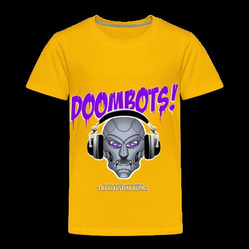 DOOMBOTS (The Celestial Beings Audio Comic Book) - Toddler Premium T-Shirt