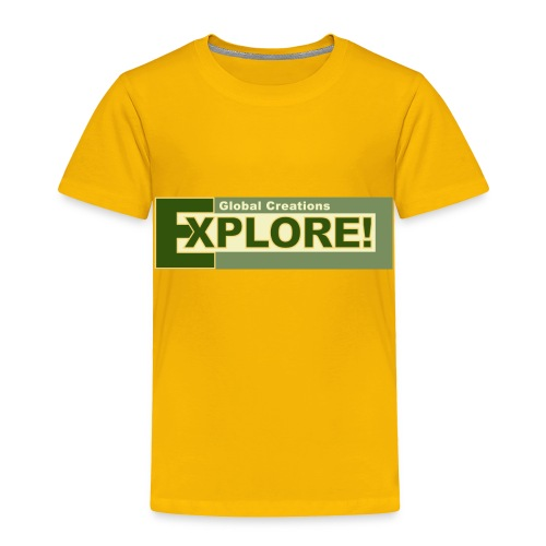 Explore Logo - Toddler Premium T-Shirt