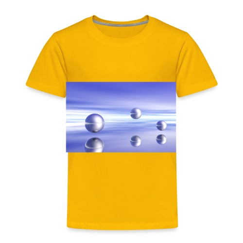 Ball Landscape in 3D - Toddler Premium T-Shirt