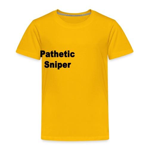 PatheticSniper Sweater - Toddler Premium T-Shirt