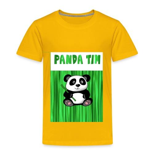 Panda Tim - Toddler Premium T-Shirt