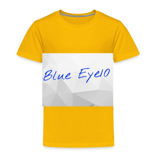 Blue Eye10 - Toddler Premium T-Shirt