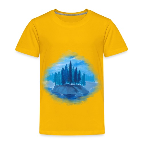 Lonely Island for color - Toddler Premium T-Shirt
