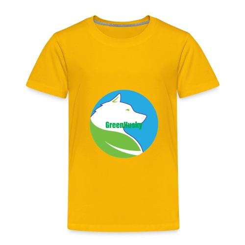 Greenhusky symbol - Toddler Premium T-Shirt