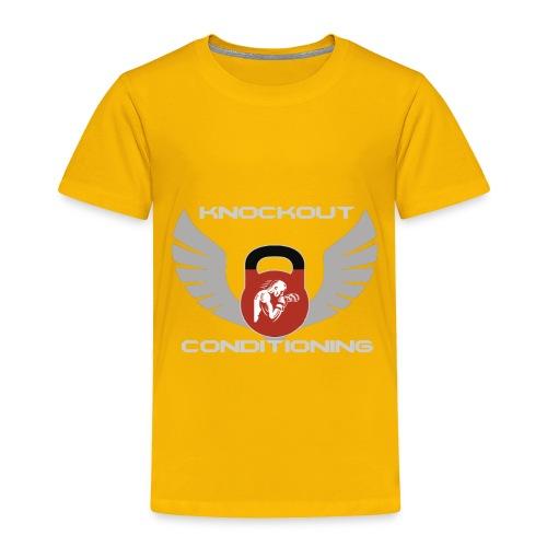 Knockout Conditioning - Toddler Premium T-Shirt