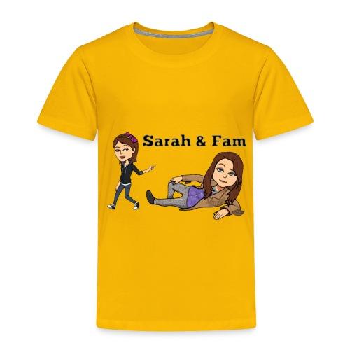 Sarah and Fam - Toddler Premium T-Shirt
