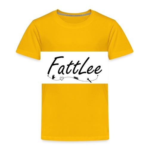 FattLee Temp - Toddler Premium T-Shirt