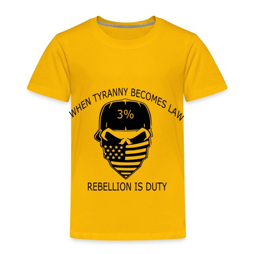 rebellion time - Toddler Premium T-Shirt