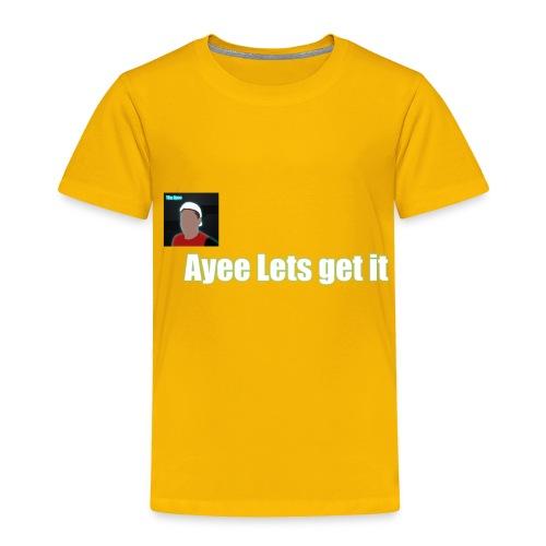 Tim Ayee Merch - Toddler Premium T-Shirt