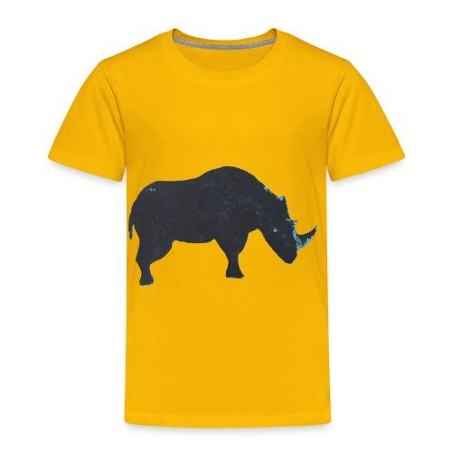 Rhino print - Toddler Premium T-Shirt