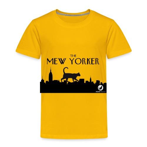 The Mew Yorker - Toddler Premium T-Shirt