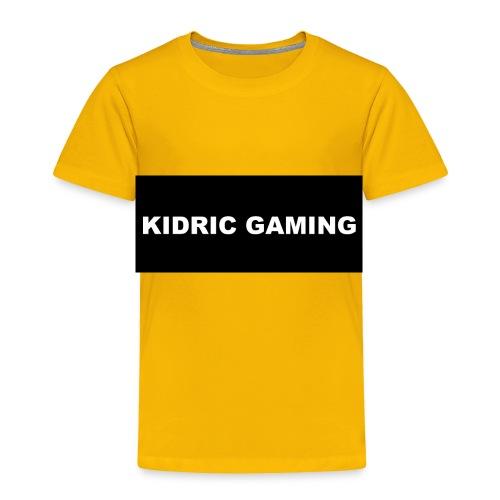 Kidric Gaming Hoodie - Toddler Premium T-Shirt