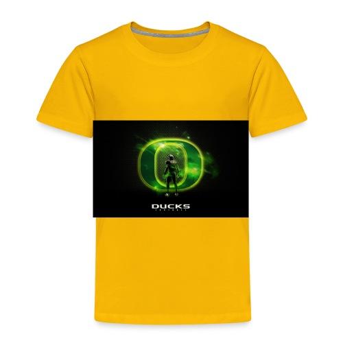 ducks_football_wallpaper - Toddler Premium T-Shirt