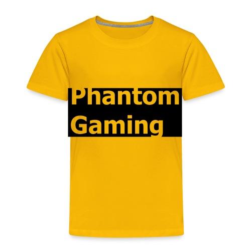 Phantom Shirt No.4 | New Logo Design - Toddler Premium T-Shirt