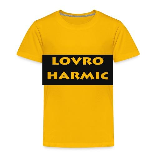Lovro STUFF - Toddler Premium T-Shirt