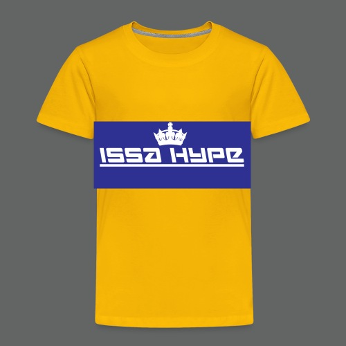 issahype_blue - Toddler Premium T-Shirt