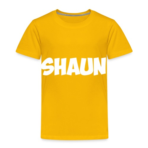 Shaun Logo Shirt - Toddler Premium T-Shirt