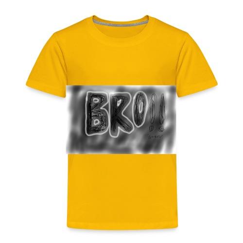 Bro - Toddler Premium T-Shirt