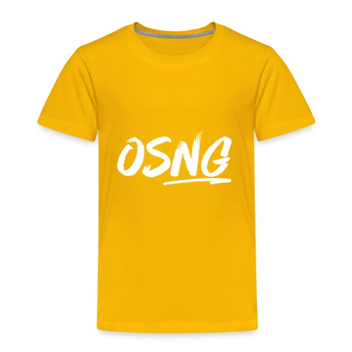 ALLWHITESLASH - Toddler Premium T-Shirt