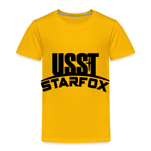 USST STARFOX Text - Toddler Premium T-Shirt